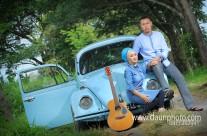 """Foto Pre Wedding  """"Volkswaagen Cinta"""" Ade dan Lia"""