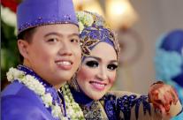 Pernikahan Affifah dan Danny