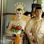 Pernikahan Nuansa Jawa Cosmos dan Serafica, RSPD Klaten