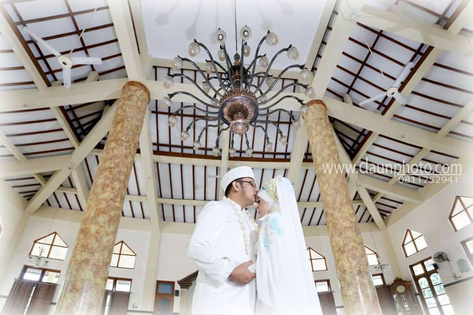 wedding muslim daun photo