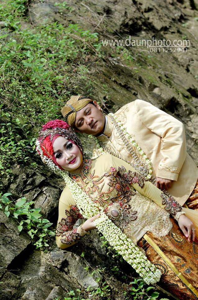 foto outdorr wedding daun photo klaten