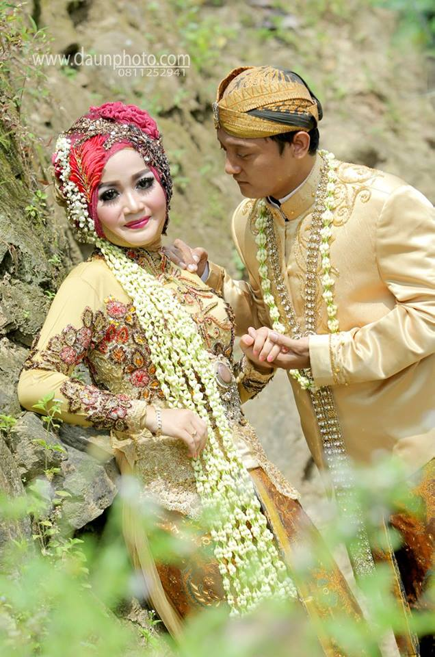 foto outdorr wedding daun photo klaten 4