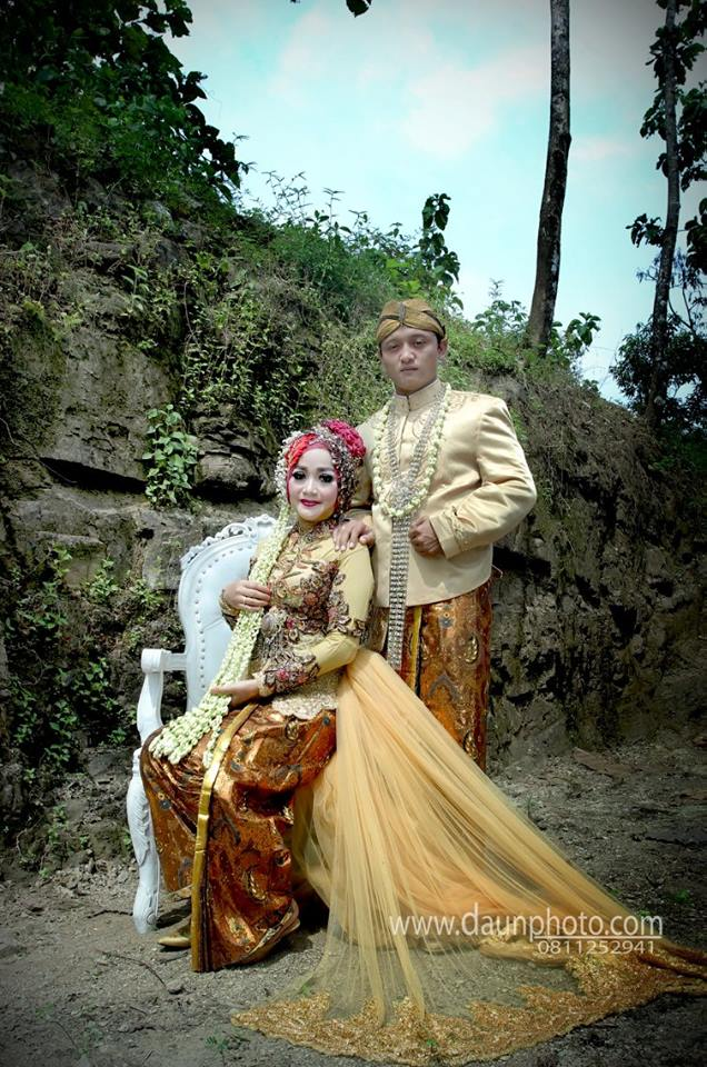 foto outdorr wedding daun photo klaten 3