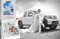 Foto Prewedding gumuk pasir